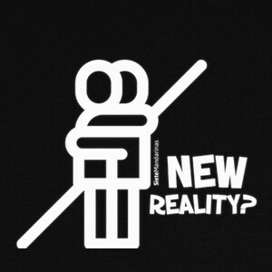 Camisetas bolsa new reality blanco
