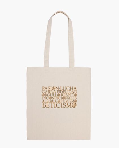 Bolsa Pasión Beticismo - Beige