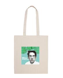 Bolsa póster Wes. Bolsa tela 100% algodón