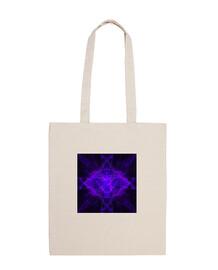 Bolsa símbolo 7º chackra violeta