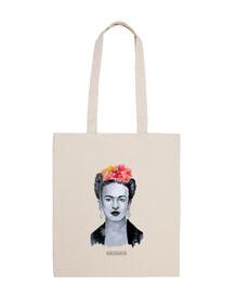 Bolsa tela 100% algodón Frida Khalo