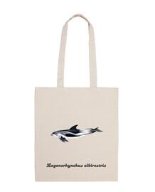Bolsa tela Delfín de pico blanco (Lagenorhynchus albirostris)