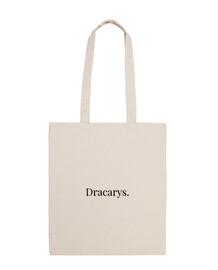 Bolsa tela Dracarys 100% algodón