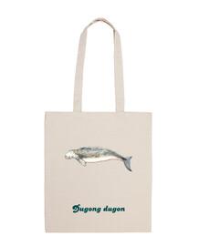 Bolsa tela Dugong (Dugong dugon)