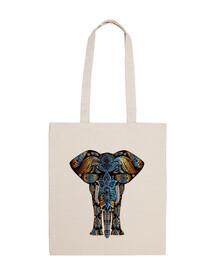 Bolsa tela Elefante