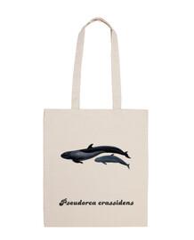 Bolsa tela Falsa orca (Pseudorca crassidens)