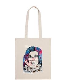 Bolsa tela Janis Joplin 100% algodón