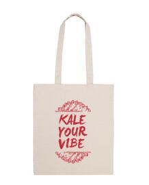 Bolsa tela Kale Your Vibe