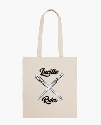Bolsa tela Lucille Rules