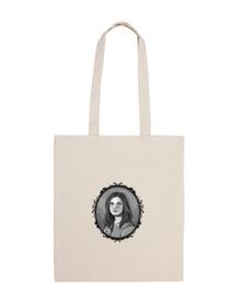 Bolsa tela Retrato de Arielle (Aunque llueva fuego) 100% algodón