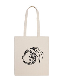 Bolsa Tribal Dragon Circle