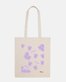 Bolsa Violetas color