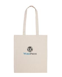 Bolsa Wordpress Logotipo Grande