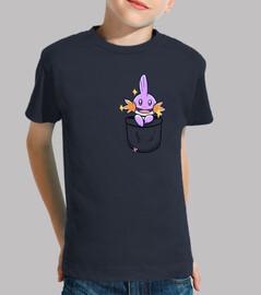 bolsillo brillante agua kip - camisa de niños