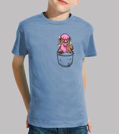 bolsillo brillante gumshoos - camisa de niños