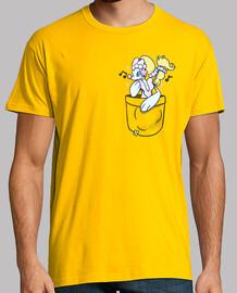 bolsillo brillante primarina - camisa de hombre