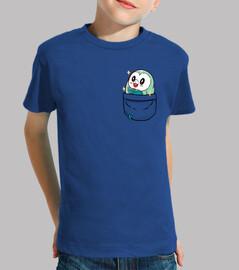bolsillo brillante rowlet - camisa de los niños