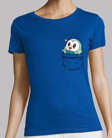 bolsillo brillante rowlet - camisa de mujer