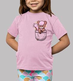 bolsillo brillante yungoose - camisa de niños