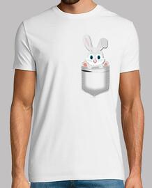 Bolsillo conejo