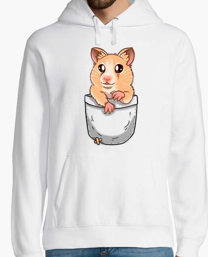 Jersey bolsillo linda mascota de hámster