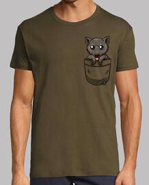 bolsillo lindo bate de fruta - camisa de hombre