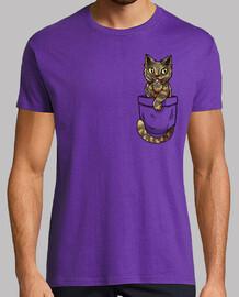 bolsillo lindo concha de tortuga - camisa de hombre