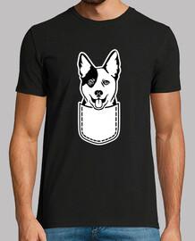 bolsillo para perros de ganado australi