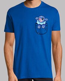 bolsillo popplio - camisa de hombre