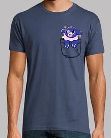 bolsillo popplio brillante - camisa de hombre