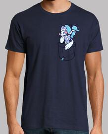 bolsillo primarina - camisa de hombre