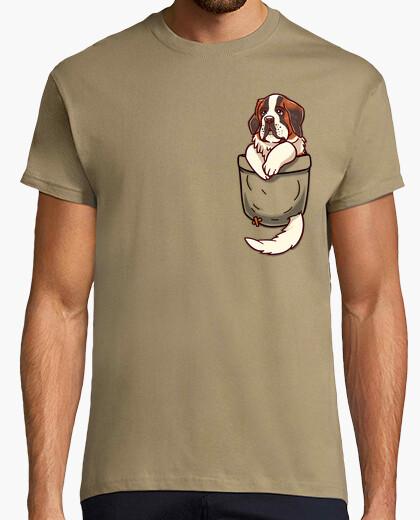 Camiseta bolsillo st bernard - camisa de hombre