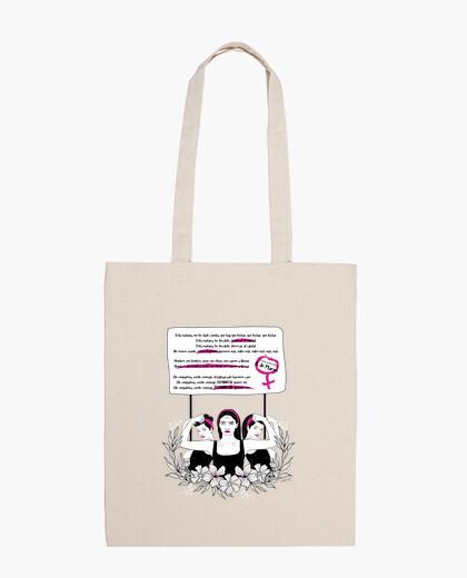 Bolsa bolso bella chiao feminista