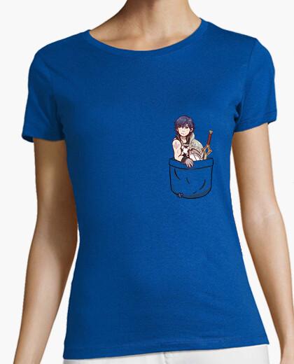 Camiseta bolso chrom - camisa de la mujer