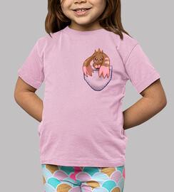 bolso lopmon - camisa de los niños