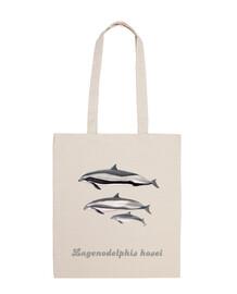 Bolso tela Delfin de Fraser (Lagenodelphis hosei)