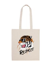 Bolso Tigres Salvajes Animales Felinos