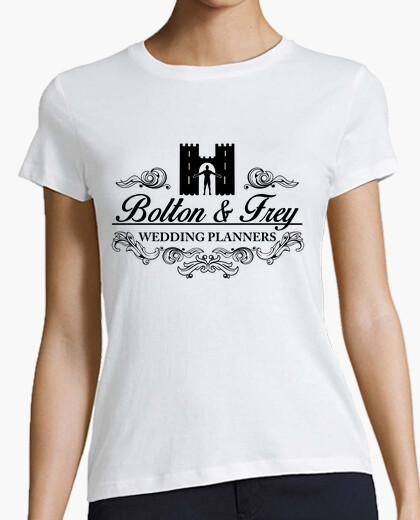 Camiseta bolton y Frey planificadores de bodas