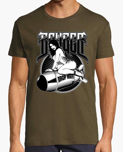 Camiseta Bomber Pin-Up Chica