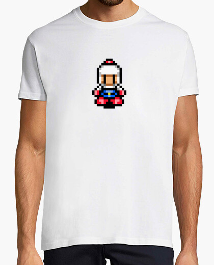Camiseta Bomberman Pixel Retro