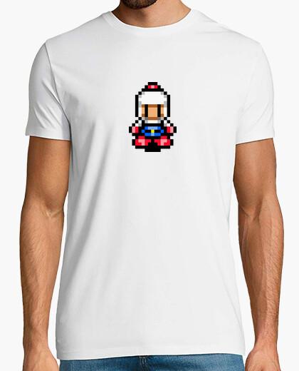 Camiseta Bomberman Pixel Retro