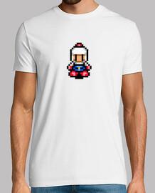Bomberman Pixel Retro