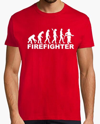 Camiseta bombero de evolución