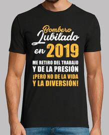 Bombero Jubilado en 2019