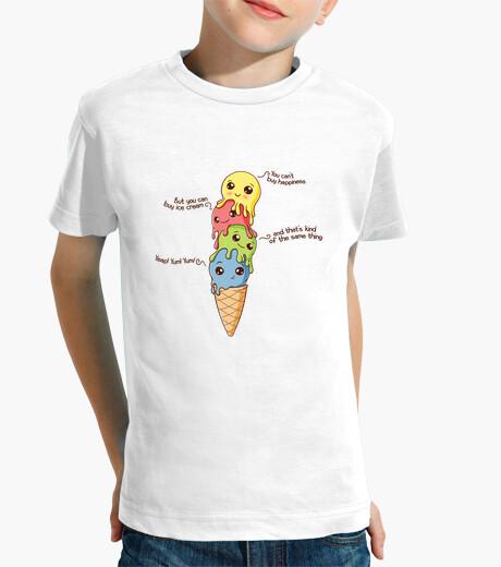 Vêtements enfant bonheur de la crème glacée