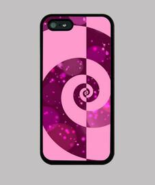 bonita en rosa iphone 5