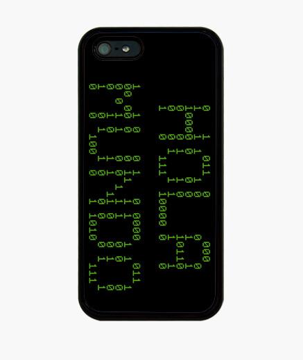 Coque iPhone bonjour monde binaire