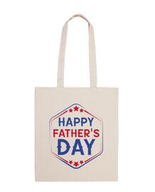 bonne day pères - sac 100% coton