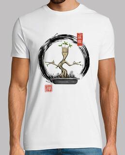 bonsai meditationen shirt herren