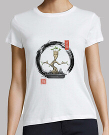 bonsai meditations shirt womens